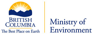 British Columbia, The best Place on Earth, Ministry of Environment Logo