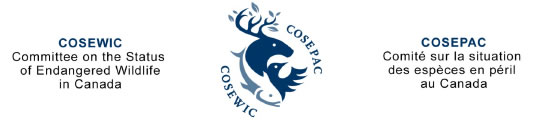 COSEWIC — Committee on the Status of Endangered Wildlife in Canada
